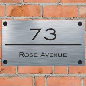 House Number Name