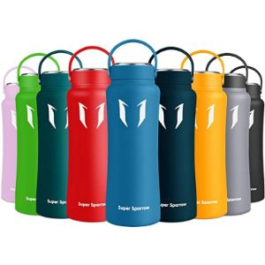 Super Sparrow Holder Pattern Insulated Water Bottle