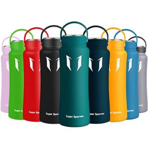 Super Sparrow Wide Mouth Stainless Steel Water Bottle