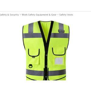 Cuhawudba Screen Printing Safety Vest