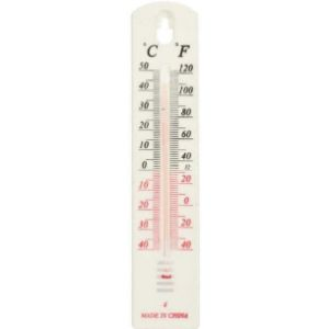 Bongles Picture Outdoor Thermometer