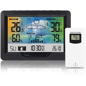 Cozhyess Outdoor Thermometer Hygrometer Barometer
