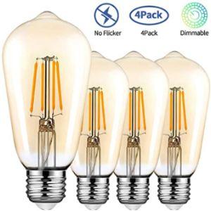 Topleder Pendant Light Fitting Edison Screw