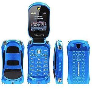 Jja Bros Dual Sim Flip Mobile Phone