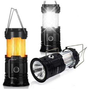 No Solar Led Candle Lantern