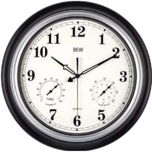 Bew Garden Wall Clock Thermometer