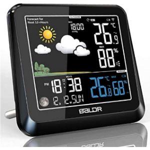 Konsen Outdoor Thermometer Hygrometer Barometer