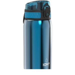 Ion8 Stainless Steel Water Bottle Flip Top