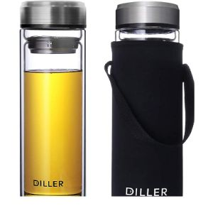 Diller Large Stainless Steel Water Bottle