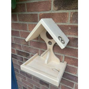 Nash And Sons Woodcraft Wall Mounted Bird Table