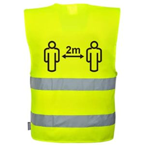 Portwest Tape Safety Vest With Reflective