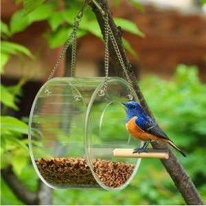 Maxjaa Acrylic Window Bird Feeder
