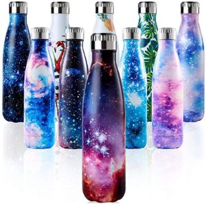 Enlifety Holder Pattern Insulated Water Bottle