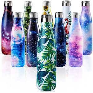 Enlifety Stainless Steel Water Bottle 500Ml