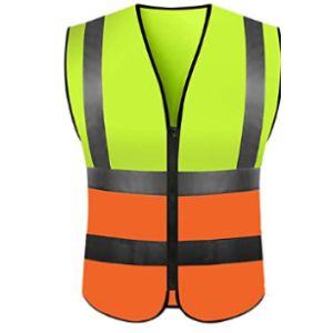Yutu Orange Reflective Safety Vest