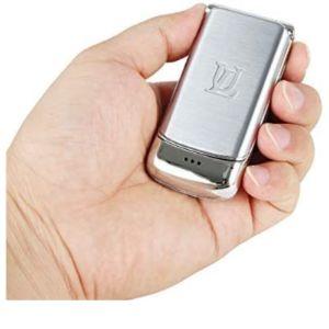 Jja Bros Jja Luxury World Smallest Metal Flip Phone