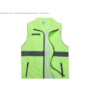 Dbscd Green Reflective Safety Vest