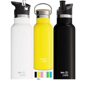 Involve & Evolve Stainless Steel Water Bottle Sport Cap
