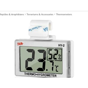 Lxszrph Reptile Humidity Meter