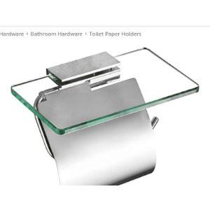 Yanroo Toilet Glass Shelf