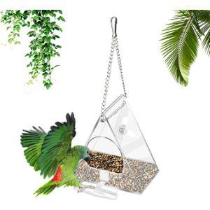 Yideng Acrylic Window Bird Feeder