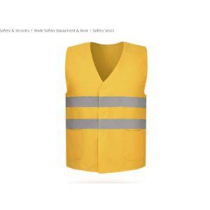 Jjjjd Safety Vest With Reflective Stripes