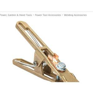 Mxtech Welding Earth Clamp Brass