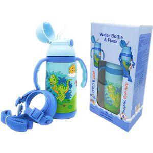 Abc Kids Uk Toddler Stainless Steel Water Bottle