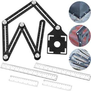 Frienda Plastic Angle Ruler