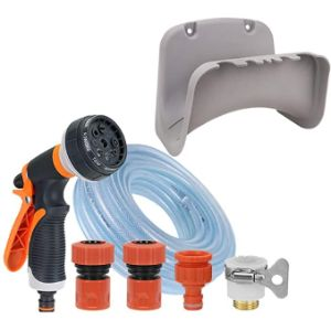 Yuesfz Coil Wall Mount Hose Holder