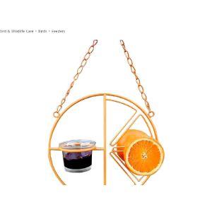 Guer Bird Feeder Orange