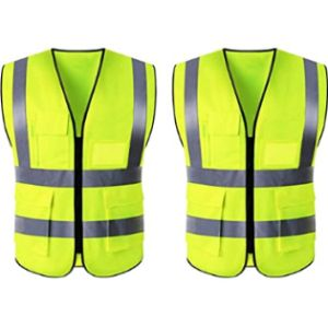Exeqianming High Visibility Reflective Safety Vest