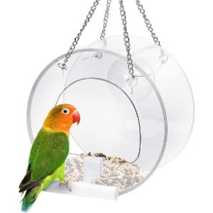 Pandao Hanger Window Bird Feeder