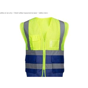 Djst Safety Vest Mesh Fabric