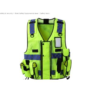Gyj&Mmm High Visibility Tactical Vest
