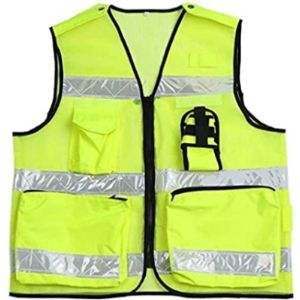 1Yess Reflective Safety Vest With Company Logo