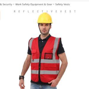1Yess Police Safety Vest Reflective