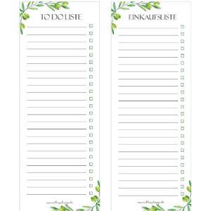 Design Task List