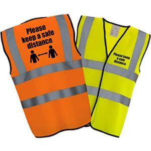 Hi Vis Heroes Limited Class 1 Safety Vest