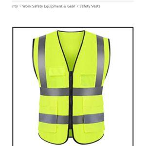 Manrs Ansi Reflective Safety Vest