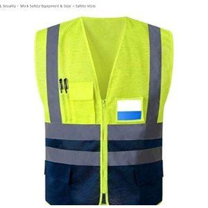 Guhui Radio Pocket Safety Vest