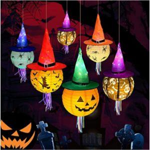 Ymer0 Led Lantern Halloween