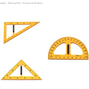 Diercosy Right Angle Triangle Ruler