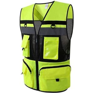 Affnbdyp Cycling High Visibility Vest