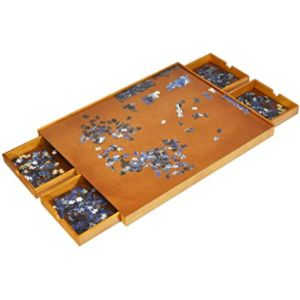 Gymax Jigsaw Puzzle Table