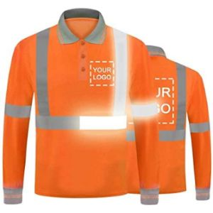 Yoweshop Reflective Safety Vest With Company Logo
