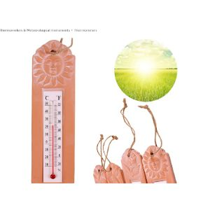 Roots & Shoots Terracotta Outdoor Thermometer