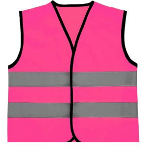 Ga Communications Pink High Visibility Vest