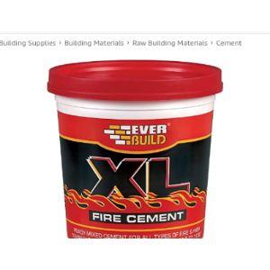 Everbuild Application Fire Cement