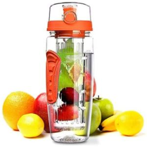 Nndq Insulated Fruit Infused Water Bottle